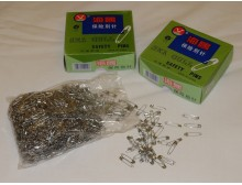 Safety pin (1728 pc), length: 22mm, color: nickel, 1 box: 1728db, unitprice: 2940,0 Ft/box*